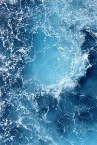 spiritueel druppel oceaan